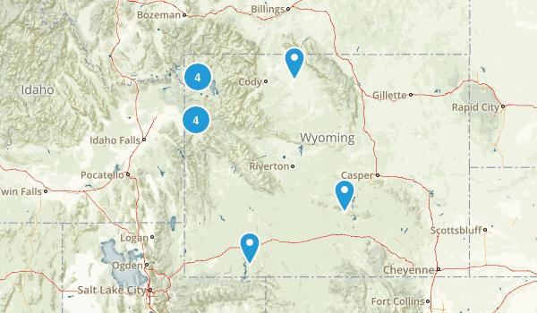 Wyoming Wheelchair Friendly Map