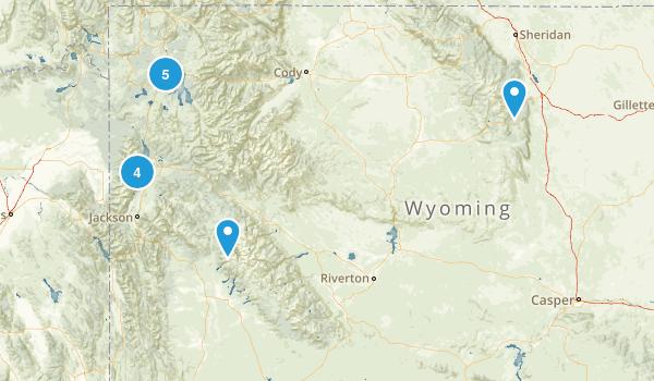 Wyoming Beach Map