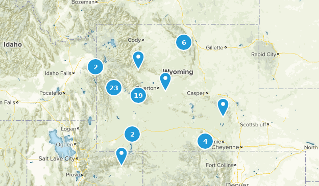 Wyoming Dog Friendly Map