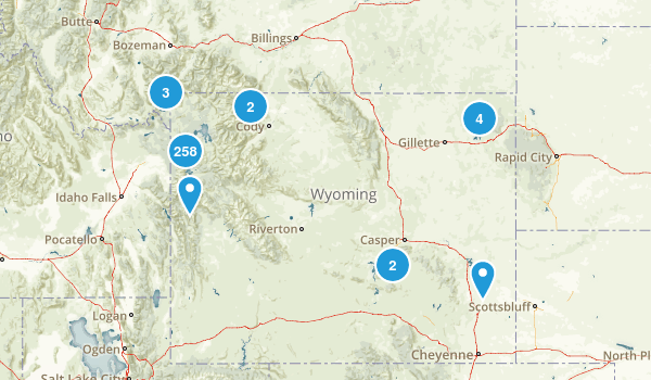 Wyoming No Dogs Map