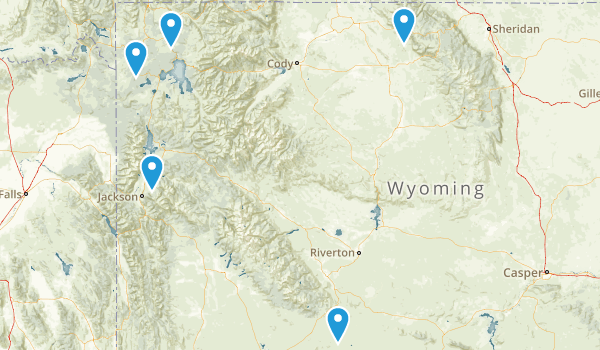 Wyoming Historic Site Map