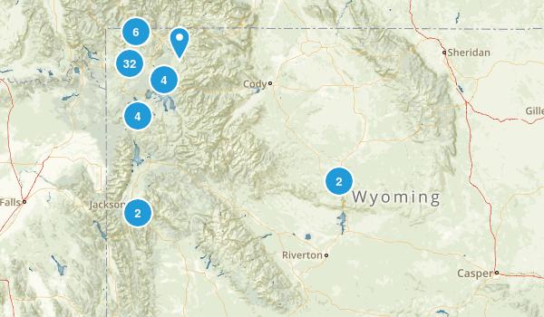 Wyoming Hot Springs Map