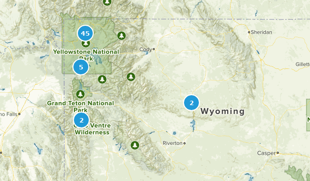 Best Hot Springs Trails in Wyoming | AllTrails
