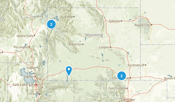 Wyoming Local Parks Map