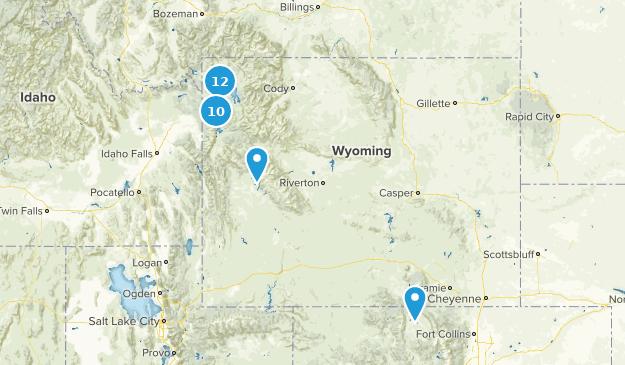 Wyoming Paddle Sports Map