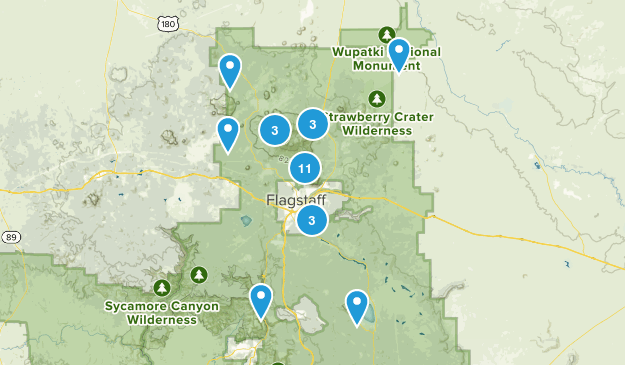 Flagstaff Area Trails Map