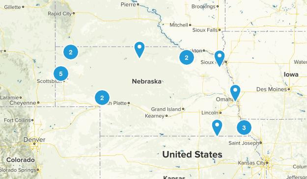 Nebraska Trails Map