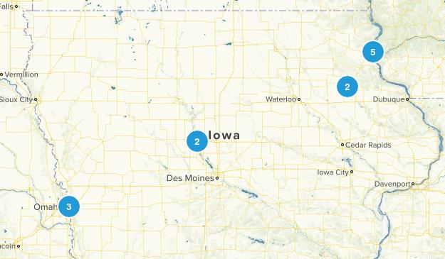 Iowa Trails Map