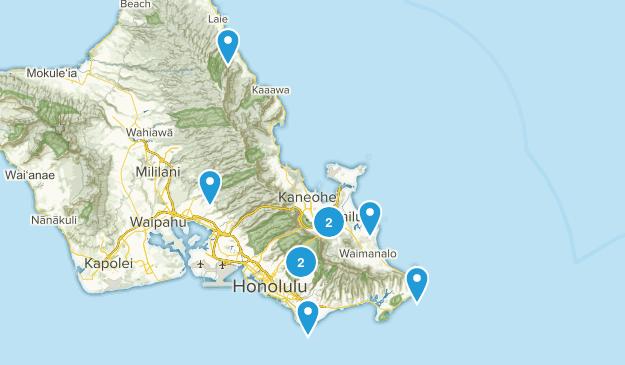 Wishlist-Oahu Map