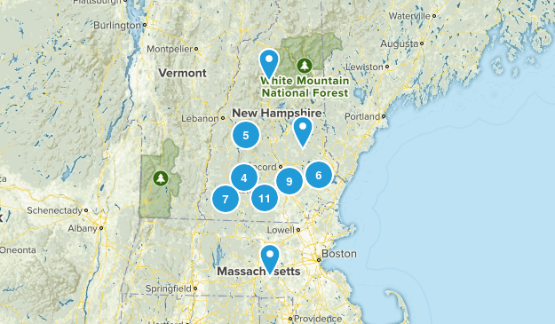 NH Trails Map