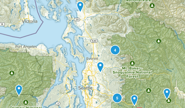 To Do Day Hike Map
