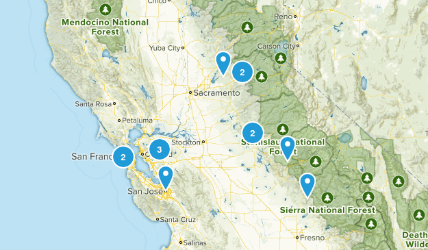 Upcoming Skinny Bitches Hike Map