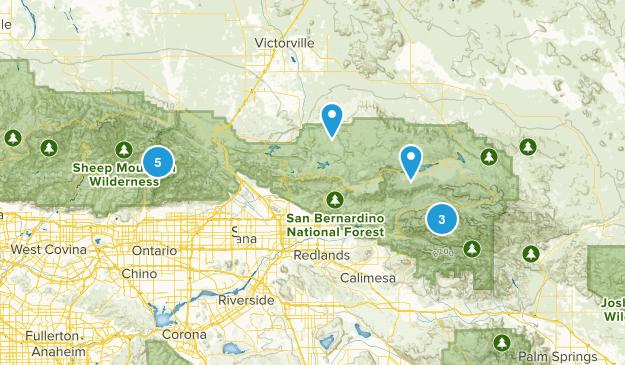 San Bernardino Map