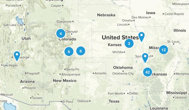 2013 Adventures Map