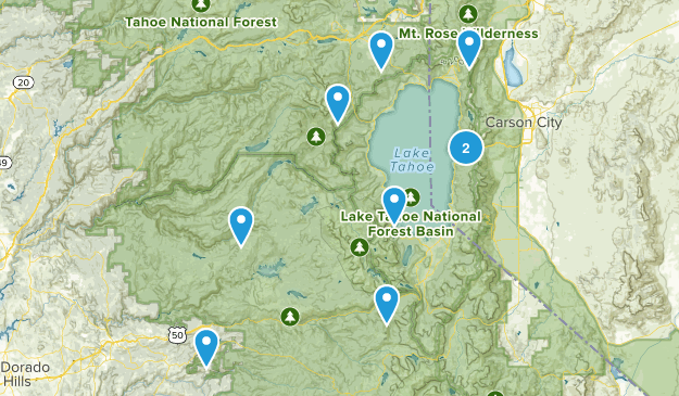 Tahoe Area Map