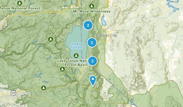 Tahoe Rim Map