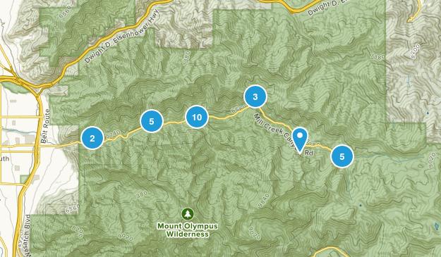Mill Creek Canyon Map