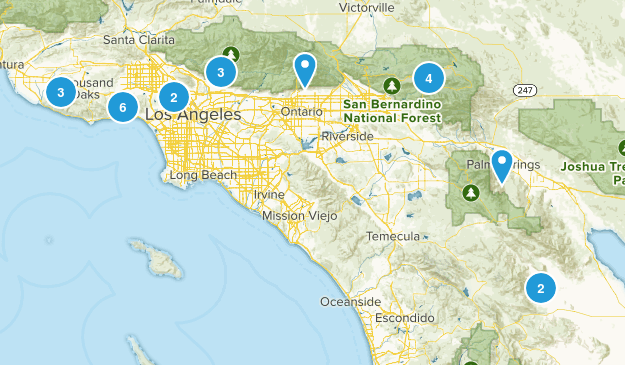 California, Southern Map