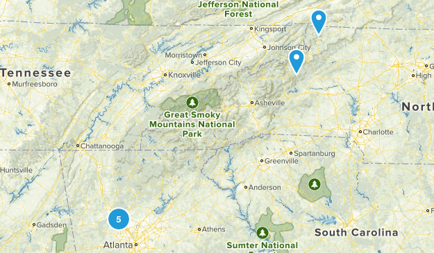 Atl Trails (TODO) Map