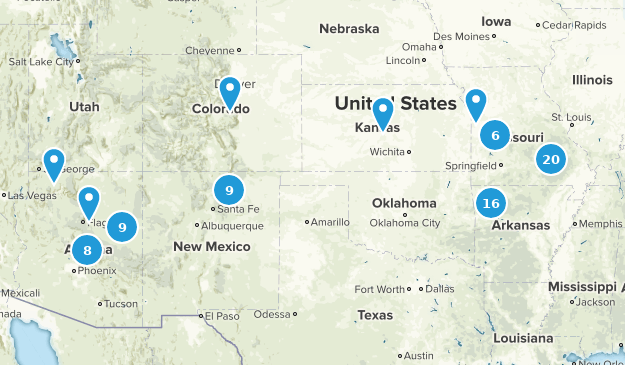 2014 Adventures Map