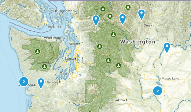 West/Central WA Map
