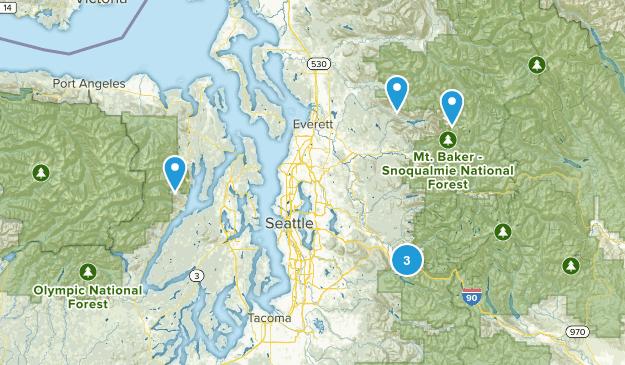 Tough Mudder Hikes Map