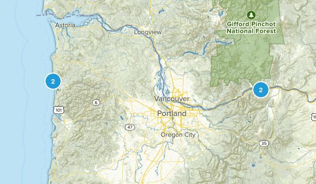 July 2014 Trip Map