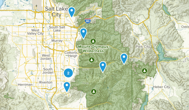 Summer Hikes 2014 Map