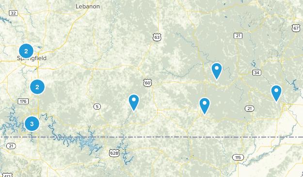 Missouri Trails Map