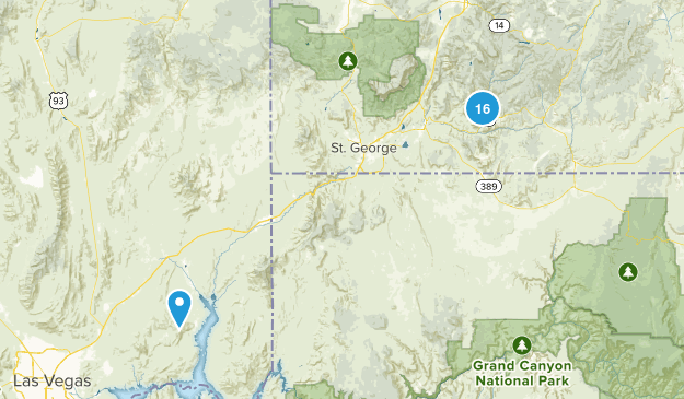 Zions National Park Map