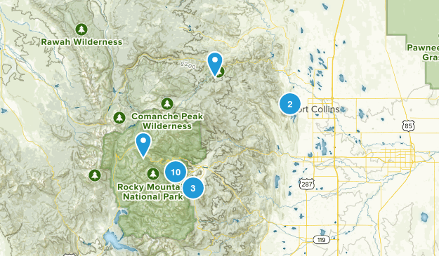 Ft Collins Trip Map