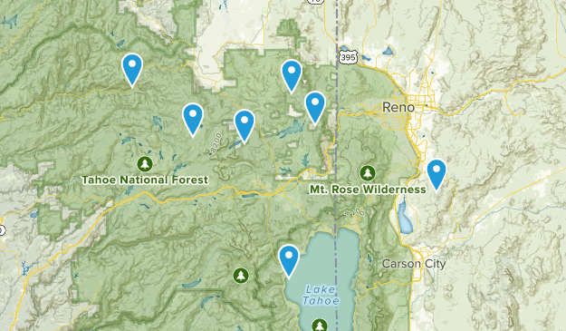 jeep day trips Map