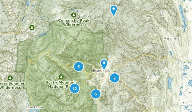 RMNP Area Map