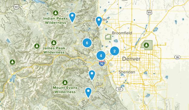 Close to Denver Map