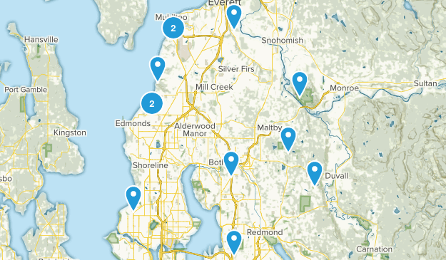 Auzi Hikes Map