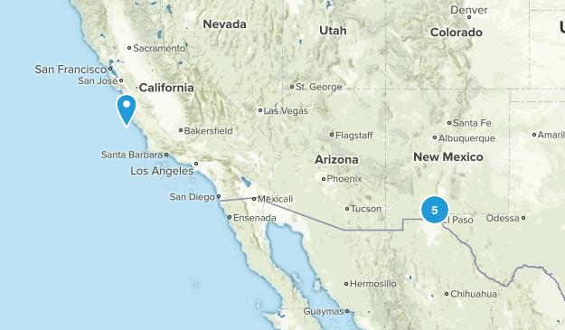 El Paso to do Map
