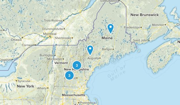 trails bucket list Map
