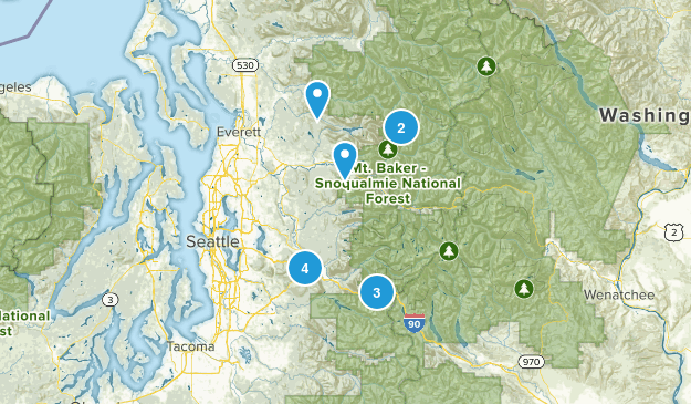 Hike to do this summer 2014 Map