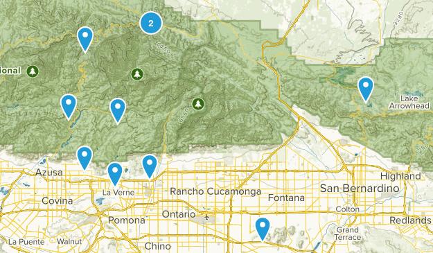 mountain bike wishlist Map