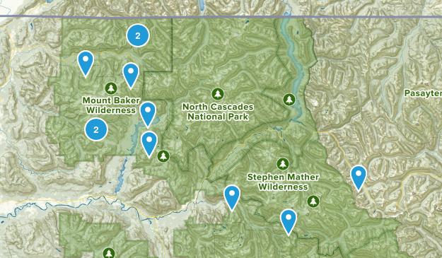 Mt Baker Map