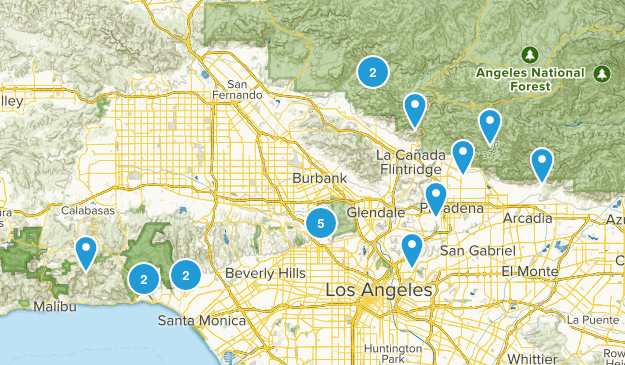 L.A. Trails Map