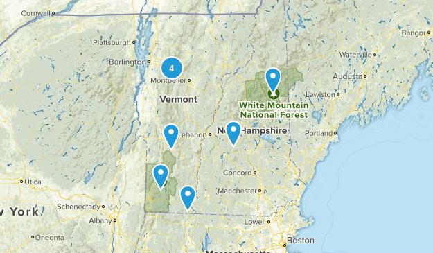 NH & VT Map