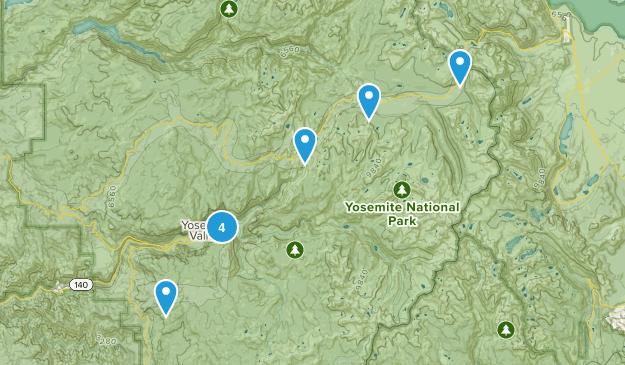 CA-Yosemite Map