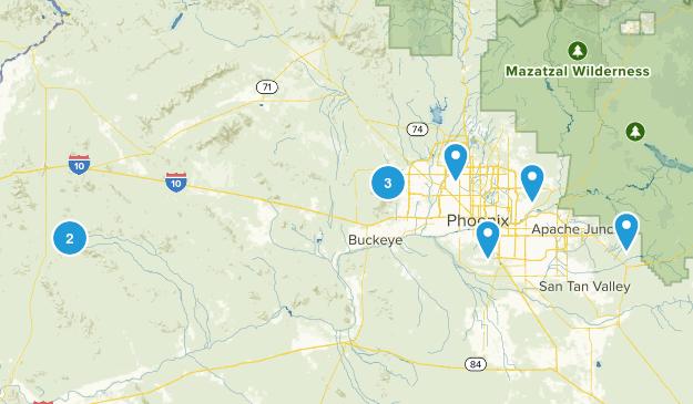 Arizona Trip Wishlist Map