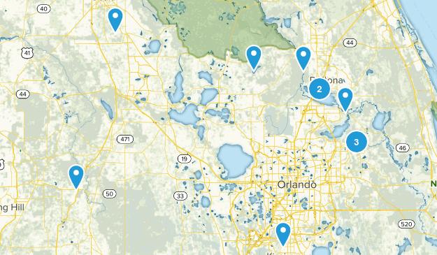 Florida trails  Map