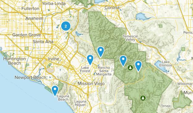 Orange County Trails Map