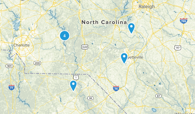 To Do in NC Map