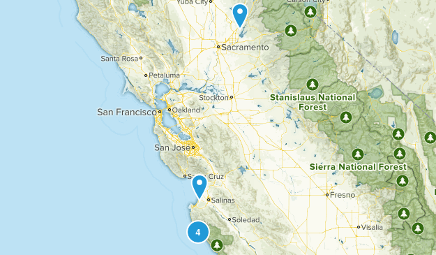 Friends or Family Hikes Map