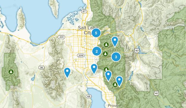 #Hikeutah15 Map