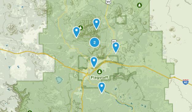Flagstaff Hikes Map